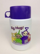 Vintage 90's Thermos Teletubbies Big Hug! Lunch Box Thermos w/ Lid and Cap - $14.80