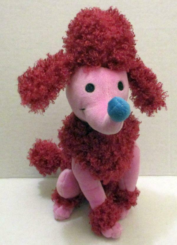 "Primary image for DISNEY STORE EXCLUSIVE PINK POODLE DOG 11"" ITS A SMALL WORLD PLUSH DOLL TOY"