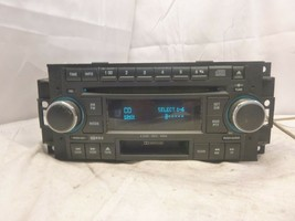 05-09 Chrysler Dodge RAK Radio 6 Disc Cd Mp3 Cassette Player P05064032AK... - $75.24