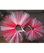 Girls Childs Gift and Doll Holiday Tutus Girls Baby Doll Matching Set Ch... - $30.00