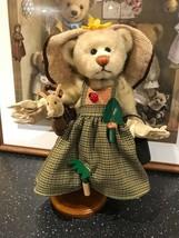 """Ganz Cottage Gardening Bear Artist Lorraine Chien 2000 Retired 11"""" with ... - $125.73"""