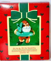Hallmark: Sun & Fun Santa - 1985 Classic Ornament - $11.18
