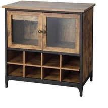 Better Homes and Gardens Rustic Country Wine Ca... - $158.94