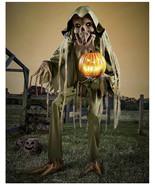 Halloween prop decor 7.1 Ft Nightmare Harvester Animatronics (sh) O12 - $851.40