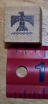 Thunderbird bird design small Rubber Stamp made in America - $8.00