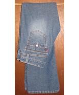 Womens Levis Superlow Blue Denim Jeans Juniors Sz 7 M - $14.99