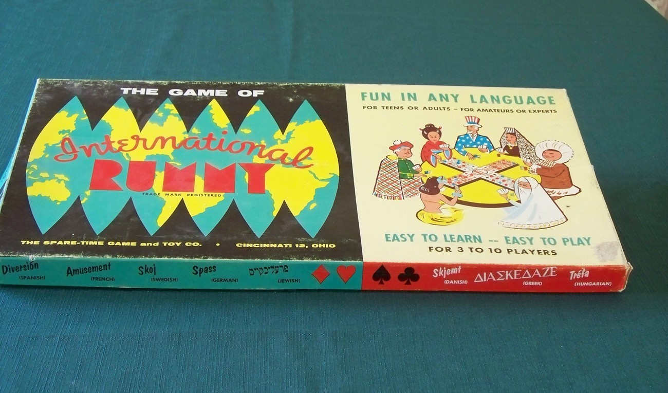 International Rummy by Spare-Time 1959. Complete