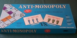 Anti-Monopoly Game Talicor 1989 Complete VGC - $12.00