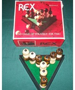 Rex the 3-D game of strategy for two.  1982. - $8.70