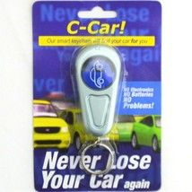 C Car Smart Keychain Never Lose Your Car Again NEW sealed - $11.29