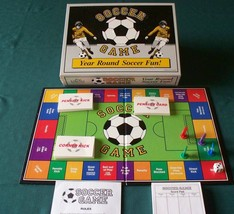 Soccer Game Board Game To Teach Rules 1988 Complete VGC - $8.00