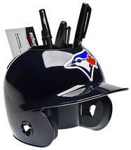 Toronto Blue Jays MLB Baseball Schutt Mini Batting Helmet Desk Caddy - $19.95