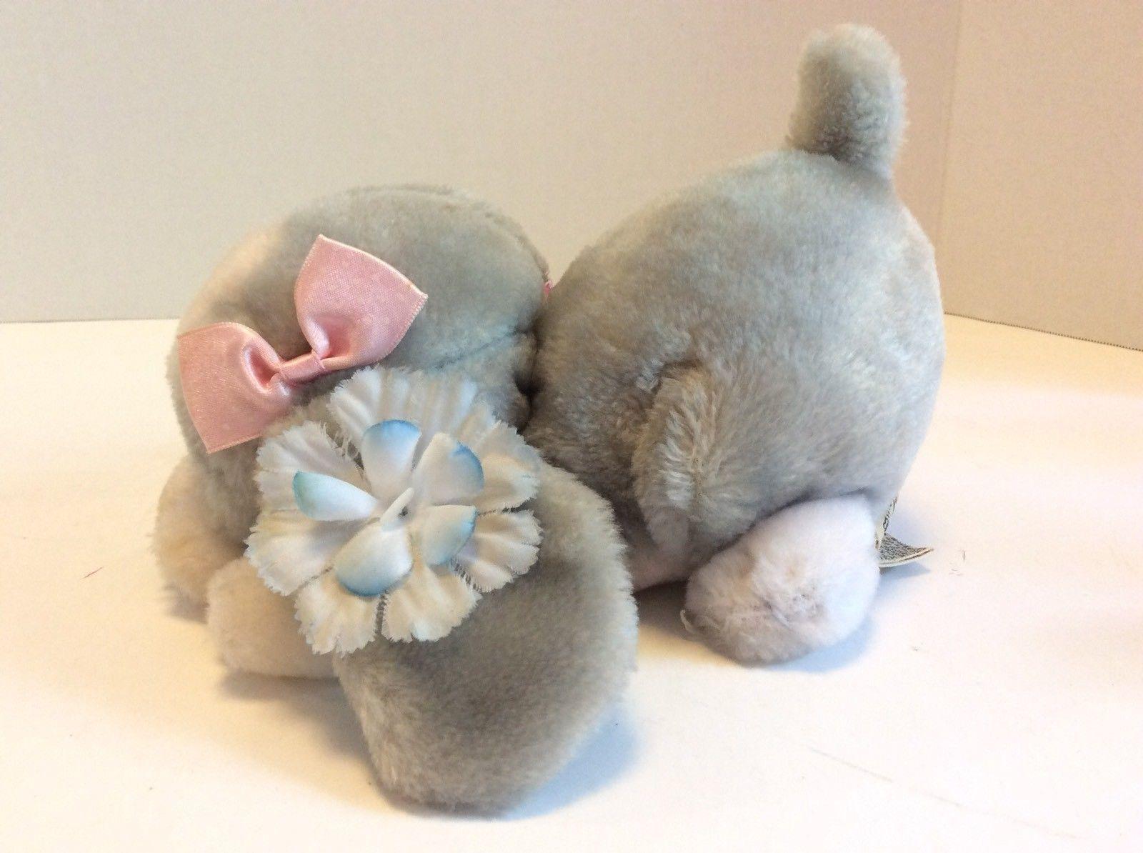 Applause Vintage Sad Sam Lying Honey Plush Stuffed Animal Doll 1986