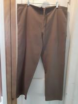 U.S. Uniform Sz Sm Brown POLY/COTTON Scrubs Bottoms: PRE-OWNED - £6.66 GBP