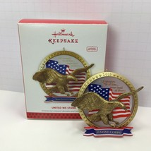Hallmark Keepsake United We Stand Armed Forces Christmas Ornament 2013 - $9.49