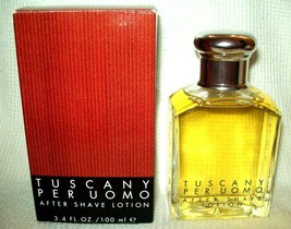 Tuscany Per Uomo After Shave Lotion by Aramis Classic 3.4oz/100ml *NEW* Rare - $242.49