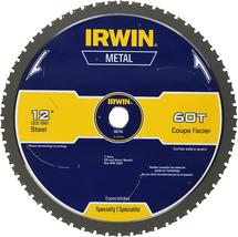 Metal-Cutting Circular Saw Carbide Blade, 12-inch 60T (4935558) IRWIN Tools - $122.06
