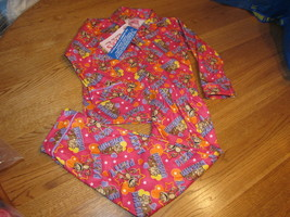 Mädchen Carter's 4 2 Teile Satz Pyjama Nachtwäsche Schlafanzug Set Affe Nwt ^ - $5.88