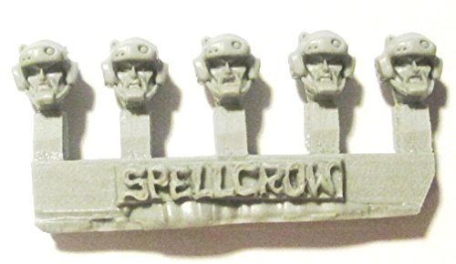 Spellcrow 28mm Conversion Bits Guards Heads in M103 Helmets (10)