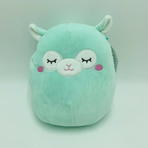 "Squishmallows Miley Llama Green 8"" Easter Stuffed Animal Kellytoy NWT - $17.99"