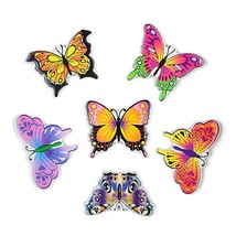 Cute Butterfly Magnets 3D Pattern Suitable For Kitchen Kids Toys Student... - $16.72