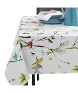 "Benson Mills Menagerie Birds on Branches Indoor/Outdoor Tablecloth 84"" O... - $46.00"