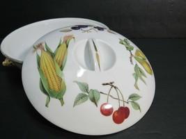 Royal Worcester Covered Baker Evesham Fruits Flame Proof Porcelain England  - $47.49