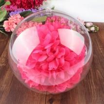 Transparent Plastic Acrylic Balls Christmas Tree Wedding Decorations 10p... - $21.77