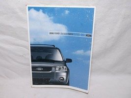 2006..06 Ford Escape Hybrid /OWNER'S/OPERATOR/USER MANUAL/ BOOK/GUIDE - $29.70