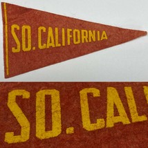 1930's Southern California Trojans USC  University  MINI Pennant 2.25x4.25 - $19.75