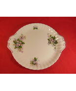 """10 3/8""""Cake Plate, from Royal Albert, in the Mayflower Pattern. - $17.99"""