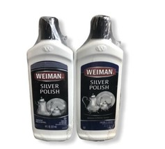 (2) Weiman Silver Polish and Cleaner - 8 Ounce - Clean Shine and Polish Safe - $26.00