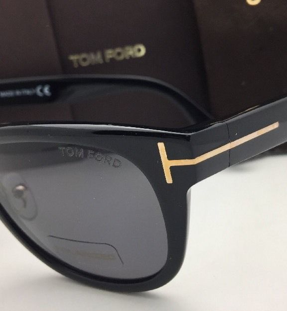d479f7adf5d60 Polarized TOM FORD Sunglasses JACK TF 45 01D 51-20 135 Black   Gold w