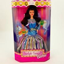 Barbie Doll Starlight Carousel Metallic Rainbow Gown Mattel #19708 Brunette - $12.19