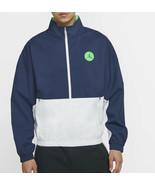 Jordan Nike Legacy AJ13 Jacket Medium Mens Blue White Green CW0837-414 - $225.00