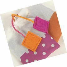 SmartyKat, Tea Teazers, Soft Plush Tea Bags, Cat Toys, Orange & Pink -set of 2  image 4