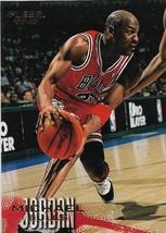 Michael Jordan Fleer 96-97 #13 Chicago Bulls Washington Wizards - $2.50