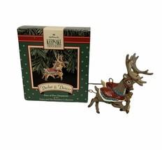 1992 Vintage Hallmark Keepsake Ornament Dasher & Dancer - £14.83 GBP