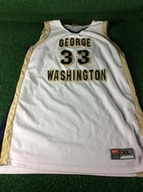 George Washington University Team Issued Nike #33 Jamila Bates XL Jersey - $29.99