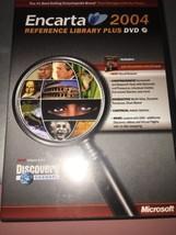 MS Encarta Reference Library 2004 98/2000/ME/XP * - $12.73