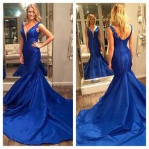 Backless Prom Dress New Style Sexy Back Evening Gowns Open Backs Formal Lace - $189.00