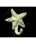 Primitive Style Cast Iron Vertigris Starfish Hook Nautical  - $8.98