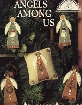 Angels Among Us Christmas Homespun Elegance Cross Stitch Pattern Leaflet NEW - $5.37