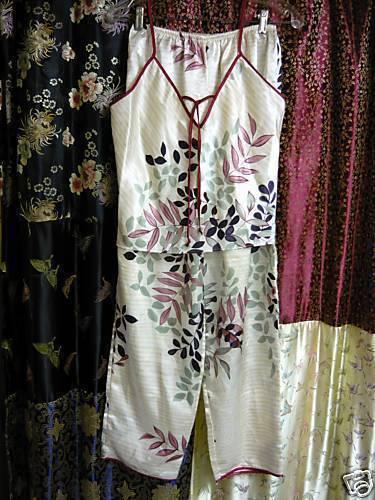 Secret Treasures 2pc. Slinky Pajamas Med. - $10.00