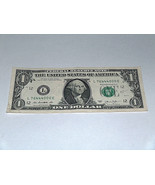 2013 $1 One Dollar Bill US Note 3 Of A Kind Sets 76444000 Fancy Serial N... - $12.95