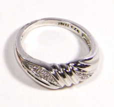 Early .925 Sterling Silver Swirl Design Ring - $19.95