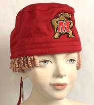 Maryland Terrapins NCAA Surgery Chemo Scrub Hat Cap Wonder Work Do-Rag A10-1 - $15.74