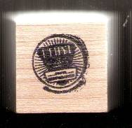 Primary image for an Ethyl gasoline logo Rubber Stamp made in america free shipping