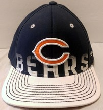 NWT Chicago Bears Onfield Reebok Hat Size L/XL White Bill Soldier Field Fitted - $29.44