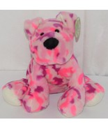 Fiesta Brand Comfies Collection A52756 Pink And Purple Camoflauge Puppy - $15.00
